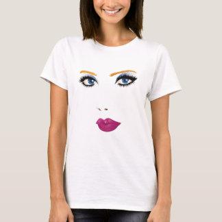 Beauty woman face 2 T-Shirt