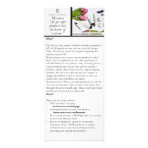 Beautycounter Information Placard Rack Card