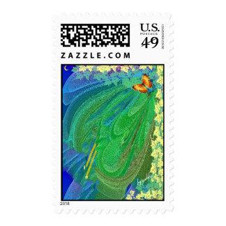 Beautyinthespringbywebbie Postage Stamps