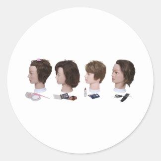 BeautySchool052010 Classic Round Sticker