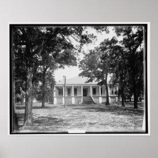 Beauvoir, home of Jefferson Davis near Biloxi, Mis Poster