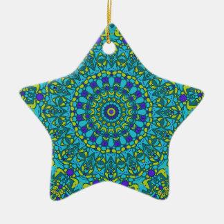 Beaux Arts Kaleidoscope Ceramic Ornament