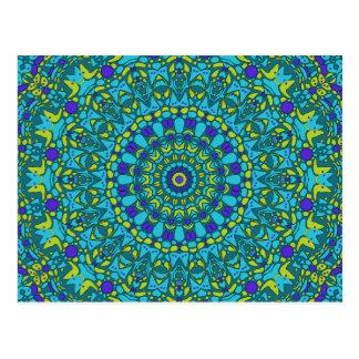 Beaux Arts Kaleidoscope Postcard