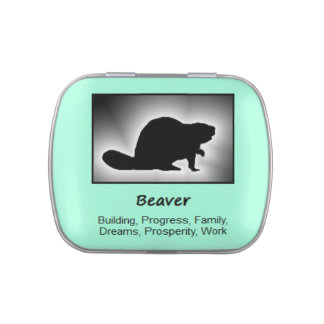 Beaver Animal Spirit Meaning Collectible Candy Tin