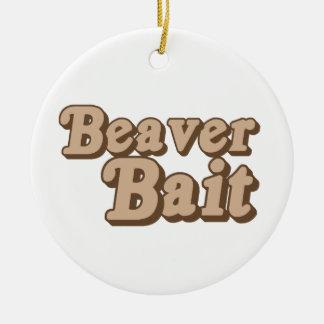 Beaver Bait Christmas Ornament