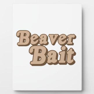 Beaver Bait Plaques