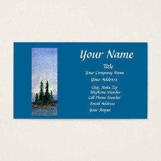 Beaver Bay Blue Business Card