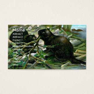 Beaver Business Card