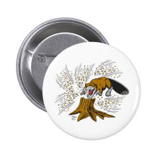 Beaver Button