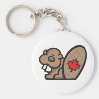 Beaver canada keychains