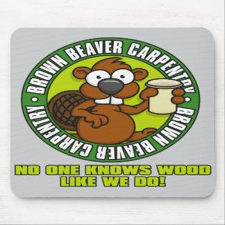Beaver Carpentry Mousepad