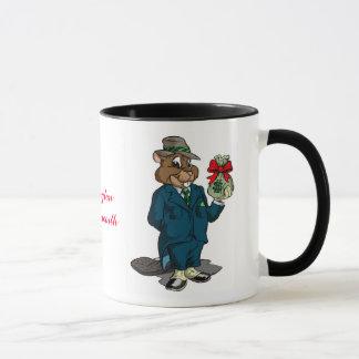 Beaver Cartoon Coffee Mug | Qwiznibet.com