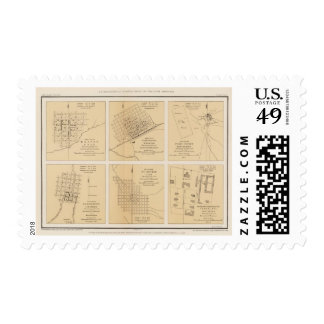 Beaver, Cheyenne, Fort Union, Georgetown Postage Stamps