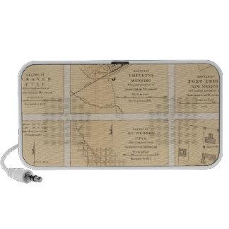 Beaver, Cheyenne, Fort Union, Georgetown iPod Speaker