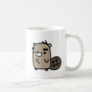 Beaver Classic White Coffee Mug