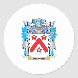 Beaver Coat of Arms Sticker