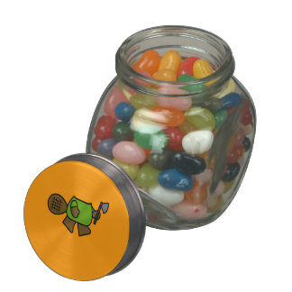 BEAVER COSTUME - Halloween -.png Glass Candy Jars