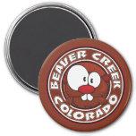 Beaver Creek Circle Fridge Magnets