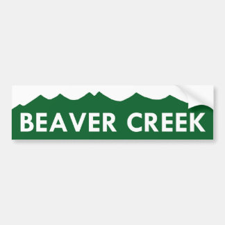 Beaver Creek Colorado Bumper Sticker