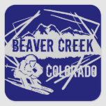 Beaver Creek Colorado ski dark blue stickers