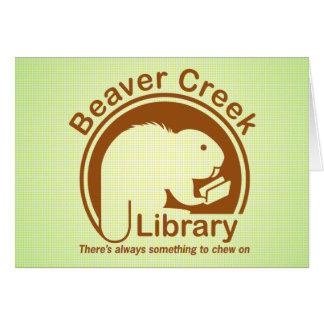 Beaver Creek Library Card