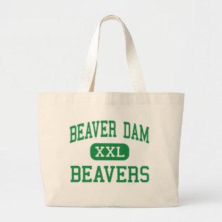 Beaver Dam - Beavers - High - Beaver Dam Wisconsin Tote Bag