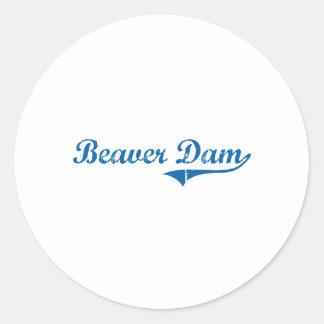 Beaver Dam Kentucky Classic Design Sticker