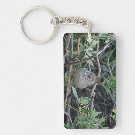 Beaver Dam Slough Fauna Birds Aves Animals Keychain