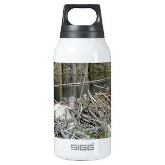 Beaver Dam Thermos Water Bottle