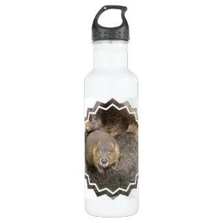 Beaver Design 24oz Water Bottle