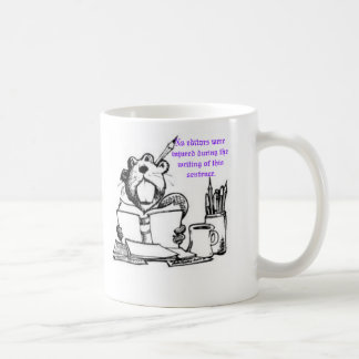 Beaver Editor Coffee Mug