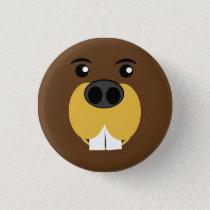 Beaver Face Button