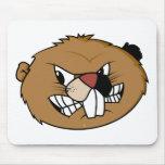Beaver Face Mousepads