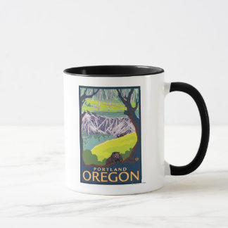 Beaver Family - Portland, Oregon Mug