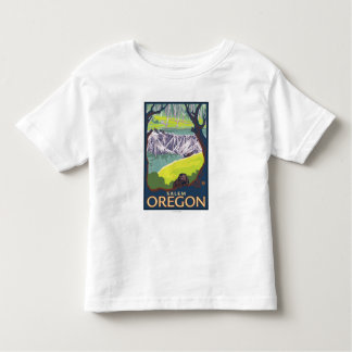 Beaver Family - Salem, Oregon Toddler T-shirt