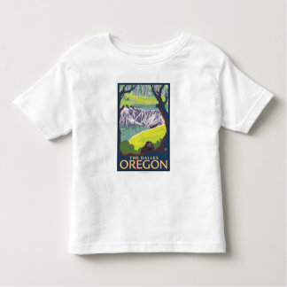Beaver Family - The Dalles, Oregon Toddler T-shirt
