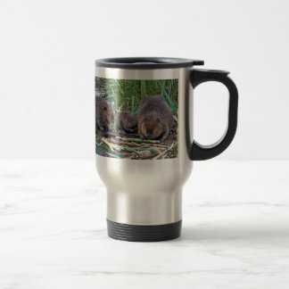 Beaver Family Travel Mug
