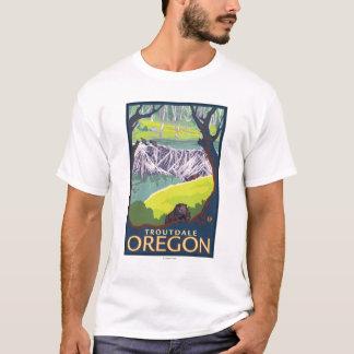 Beaver Family - Troutdale, Oregon T-Shirt