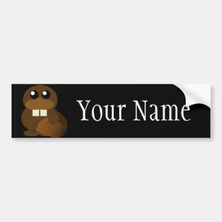 Beaver Fever Bumper Sticker