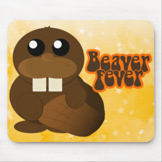 Beaver Fever Mouse Pad
