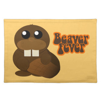 Beaver Fever Placemat