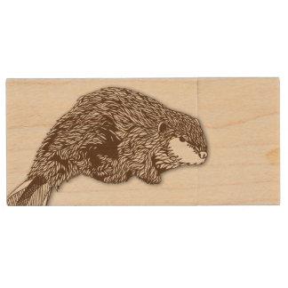 Beaver Flash Drive