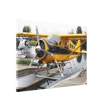 franwestphotography Beaver float plane, Lake Hood, Alaska, USA Canvas Print