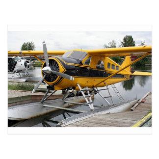 Beaver float plane, Lake Hood, Alaska, USA Postcard