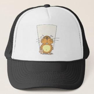 Beaver Hard Working Trucker Hat
