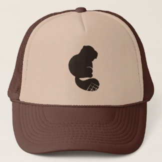 Beaver Icon, Nocturnal Rodent Trucker Hat