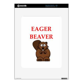 BEAVER iPad DECAL