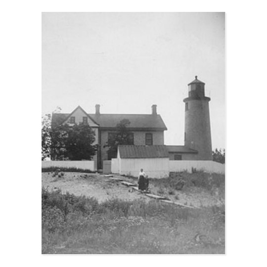 Beaver Island Head Lighthouse Postcard