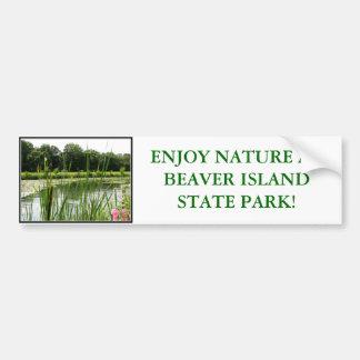 Beaver Island State Park Bumper Sticker