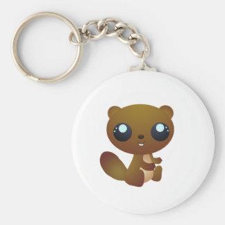 Beaver Keychain